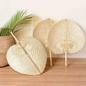 DIY-handgemachte-Luefter-herzfoermige-gewebte-Bambus-Dekoration-Fan-X7M3-Retr-K1U7
