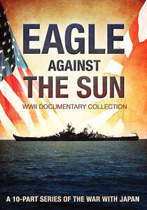 Eagle-Against-the-Sun-WWII-Documentary-Collection-DVD-2-Disc-Set-VG-FREESHIP