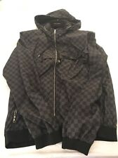 LOUIS VUITTON MENS DAMIER REVERSIBLE JACKET SIZE 56 VERY RARE! Made In France