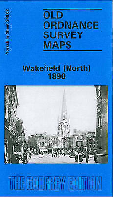 OLD ORDNANCE SURVEY MAP Wakefield (North) 1890: Yorkshire Sheet 248.03