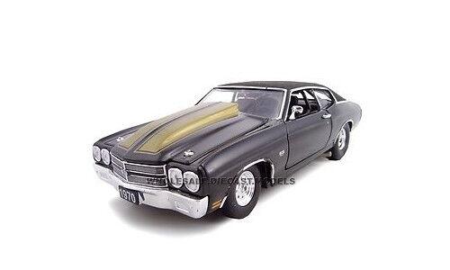 1970 CHEVROLET CHEVELLE Noir Pro Street 1 24 voiture modèle par UNIQUE REPLICAS 18678