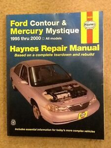 haynes 36006 ford contour mercury mystique 95 2000 repair manual rh ebay com Mercury Mystique Exhaust 2000 Mercury Mystique Repair Manual