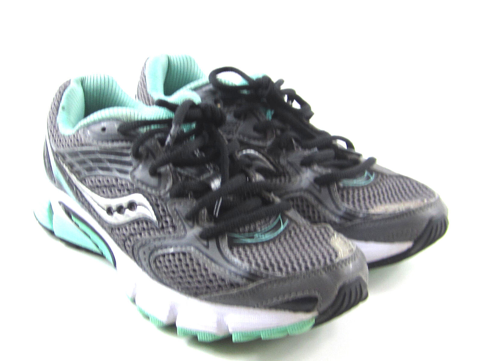 Saucony Liberate Athletic Running shoes Gry Blk Mint Women's Size 6.5 S15231-8
