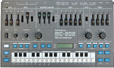 Roland MC-202 Micro Composer analogico SYNTHESIZER & Alimentatore TB-303 SH-101