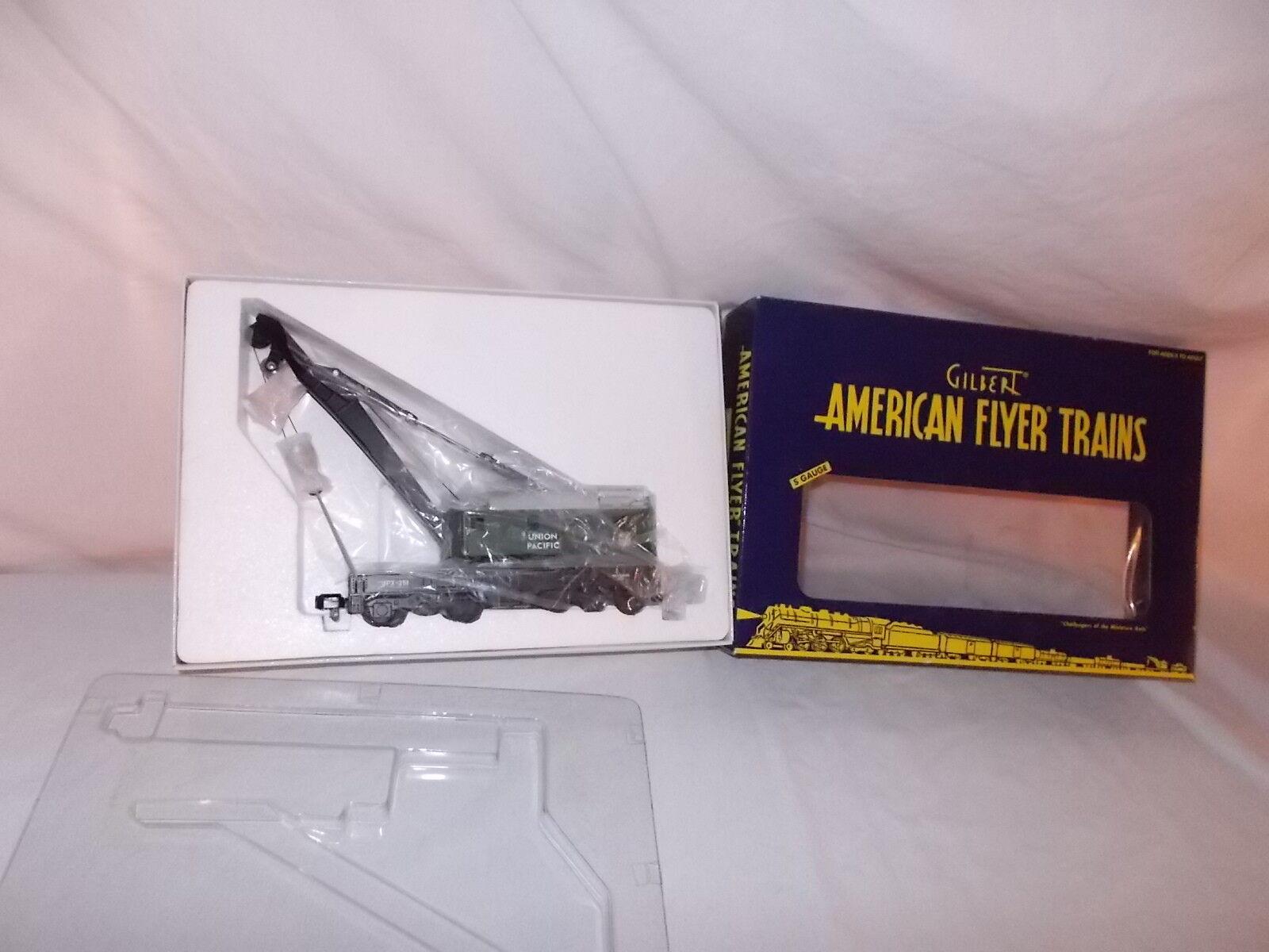 American Flyer Union Union Union Pacific grúa 6-49021 por Lionel Nuevo en Caja Lote F-97 8abb21