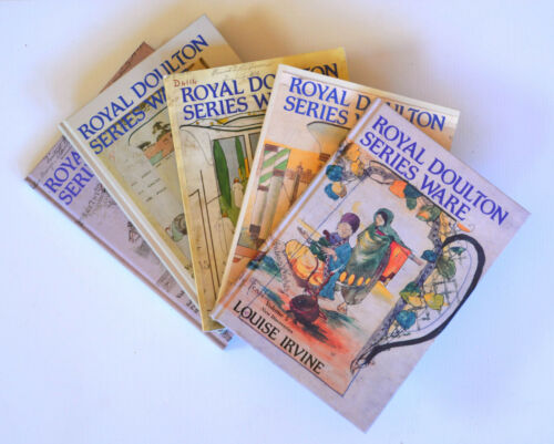 1 of 1 - A COMPLETE SET OF ROYAL DOULTON SERIES WARE BOOKS - VOLUMES 1 -5  (D NUMBERS)