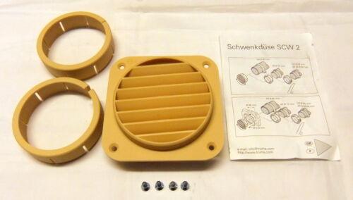 Offer 5 x Jet Adjustable Truma Heating Grid 80 72 65 60 mm Heater