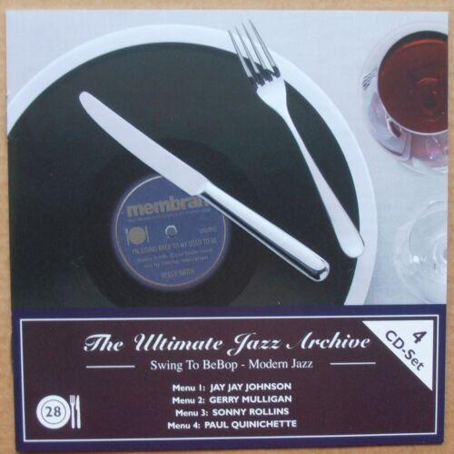 1 von 1 - Jay Jay Johnson, Gerry Mulligan, S. Rollins, P. Quinichette - Jazz 28 - 4 CD's