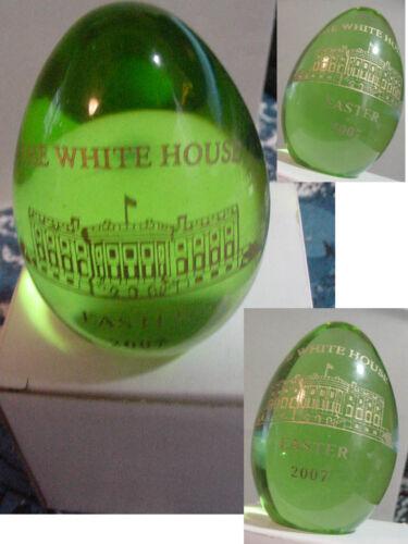 presidential white house easter egg 2007 George W Bush
