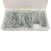 555 Pc Cotter Pin Assortment With Case Clip Key Large Medium Small
