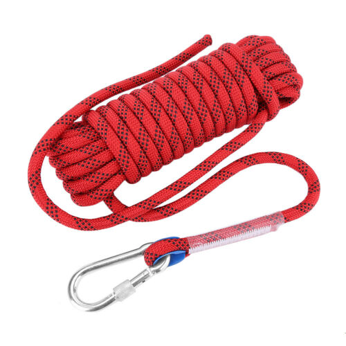 Outdoor Climbing Rope Static Rock Rope Escape Rope Ice Climbing Parachute Rope