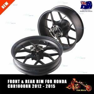 Black-Motorcycle-Front-Rear-Wheel-Rim-Set-For-Honda-2012-2013-2014-CBR-1000RR