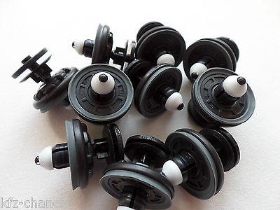 6Q0868243 10 x Audi Türverkleidung Clip Befestigung  Innenverkleidungsclip ähnl