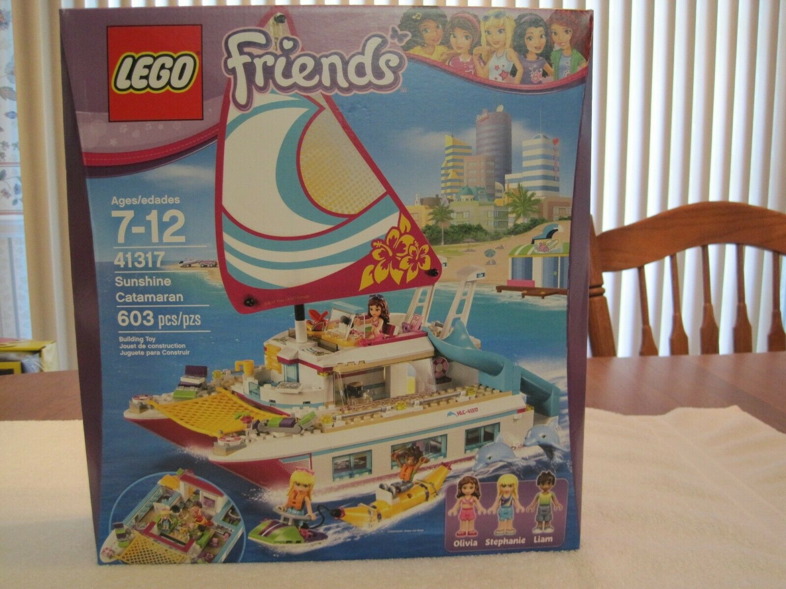 LEGO 41317 FRIENDS SUNSHINE CATAMARAN--NEW