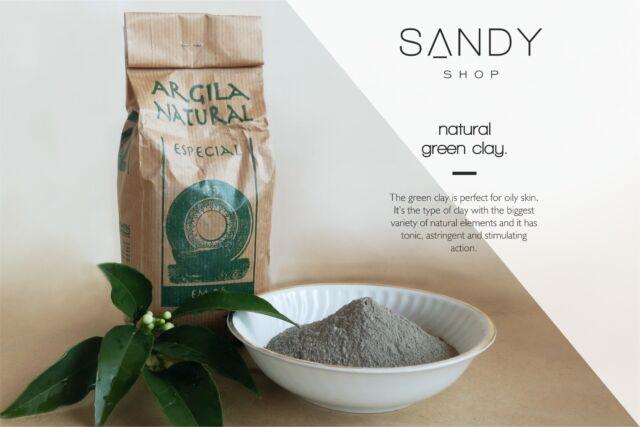 Fine Clay 1 kg Green