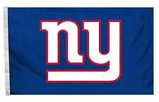 """New York Giants NFL Banner Flag 3' x 5' (36"""" x 60"""") ~ NEW"""