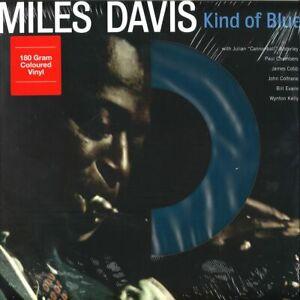 Miles-Davis-KIND-OF-BLUE-DOL725MB-180g-LIMITED-New-Blue-Colored-Vinyl-LP