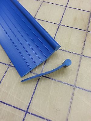 Fender Welt BLUE RUBBER Fender to body Welting Solid bead 25 Foot Roll