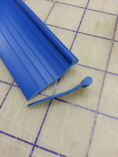 Fender Welt BLUE RUBBER Fender to body Welting Solid bead Sold by the FOOT