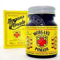 Morgan's Pomade Gray Grey White Hair Cream Pomada Crema Cabello Blanco Canas