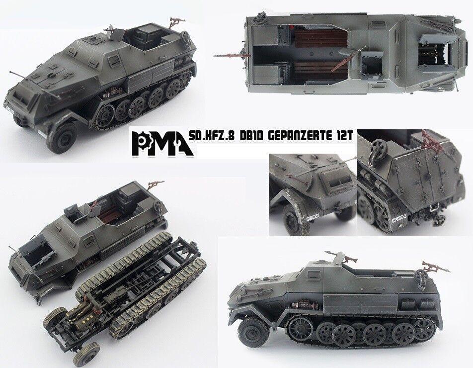 1  72 Allehommed Sd.Kfz.8 DB10 Gepanzerte 12 T PMA  commander en ligne