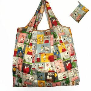 new-Snoopy-Foldable-Shopping-Nylon-Bag-Comic-Strip