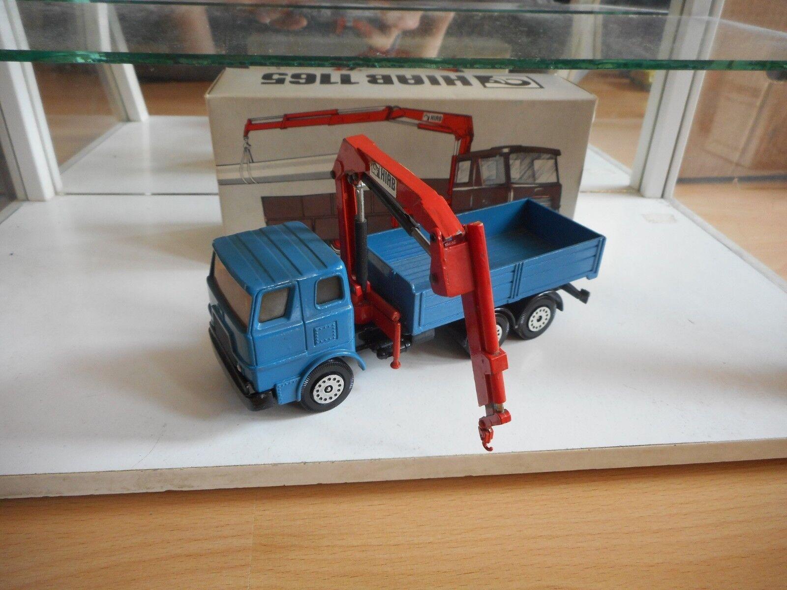 Hiab Foco Hiab 1165 Truck in blu in Box