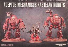 Warhammer 40K Horus Heresy Adeptus Mechanicus KASTELAN ROBOTS x2 & Datasmith New