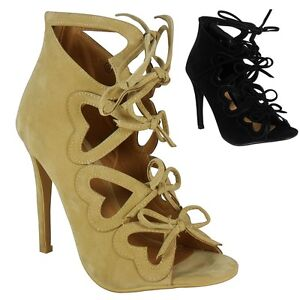 Shoes Sale Ankle High Ups Peeptoe Party Heel Stiletto Lace Ladies vzwPqxUWvF