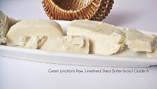 Green Junction's  Organic ,Raw ,Unrefined Shea Butter ( Ivory ) 500g  Pack