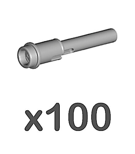 100 Lego Pin 1//2 with 2L Bar Extension ev3,half,connector,flick,61184,missile