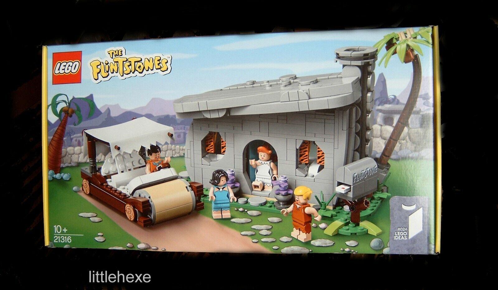 Lego Ideas 21316 famiie  feu Pierre The Flintstones Nouveau Neuf dans sa boîte  économisez 60% de réduction et expédition rapide dans le monde entier