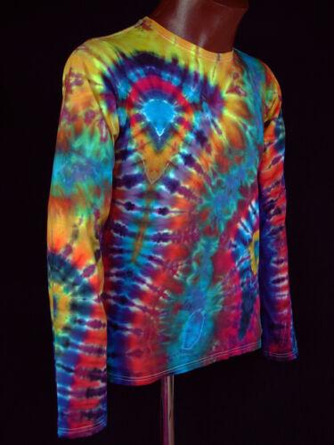 Tie Gr Goa Langarm Neu Dye Handgefärbt Batik 5xl T Hippie s shirt Power Flower 7q60nxf