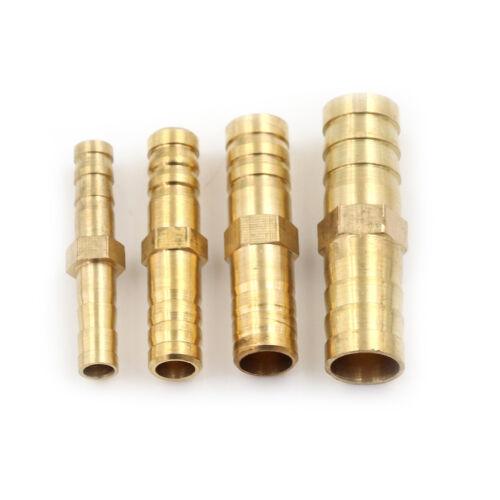 5pcs raccord de tuyau droit connecteur cannelé tuyau gaz d/'air de pipe d/'eau  I
