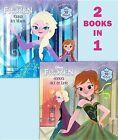 Frozen: Anna's Act of Love/Elsa's Icy Magic by Lisa Marsoli (Paperback / softback, 2013)