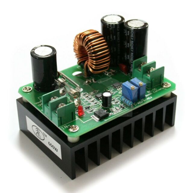 Boost DC-DC Converter Power Supply Step-up Module 10V-60V to 12V-80V 600W 10A