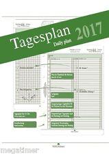 A5 Tagespläne 2017 doppelseitig - incl. Jahrespläne 2017 + 2018 und Monatspläne