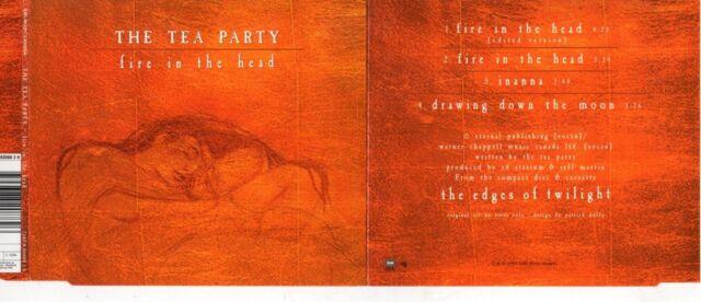 The Tea PartyFire In The Head 4-track - AustraliaMAXI CDEMI– 724388208826