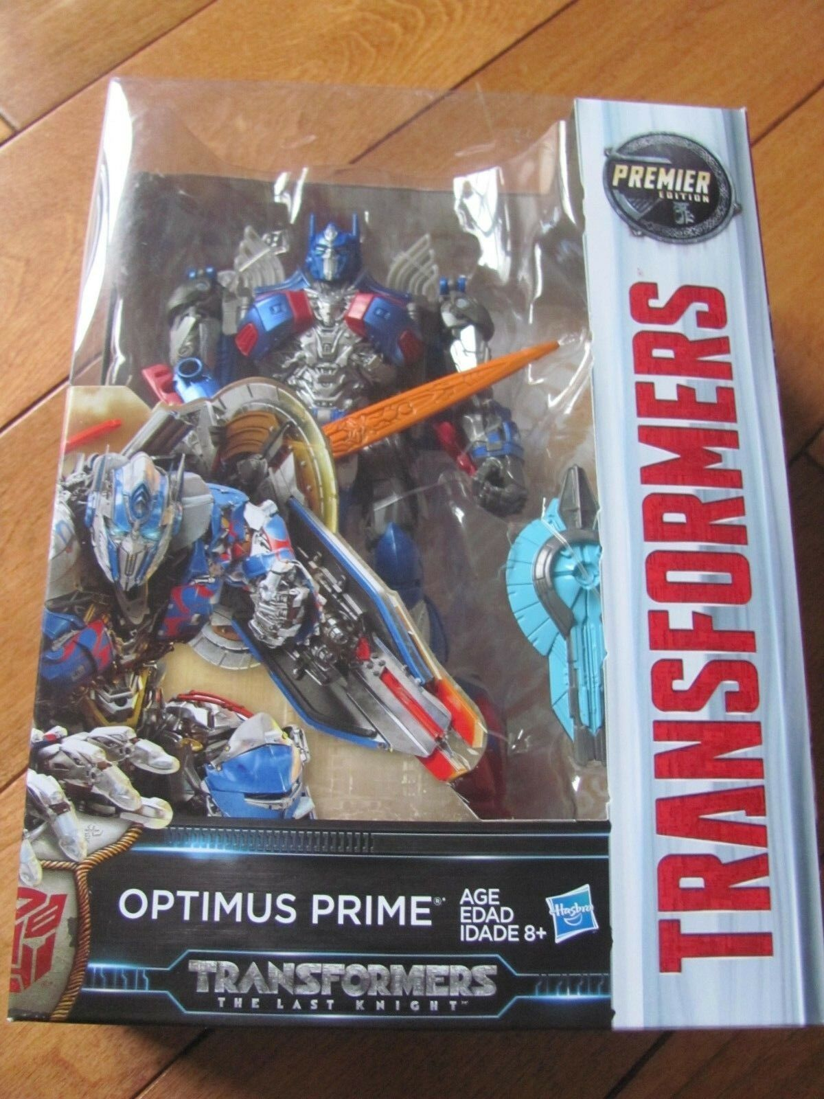 Transformers The Last Knight OPTIMUS PRIME Figure Voyager Class NEW