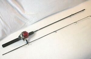 ZEBCO-RED-202-SPINCAST-FISHING-REEL-WITH-5-039-6-034-ZEBCO-ROD-MATCHED-COMBO