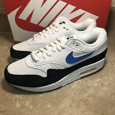 Nike Air Max 1 White Photo Blue Men's Sneakers New for sale