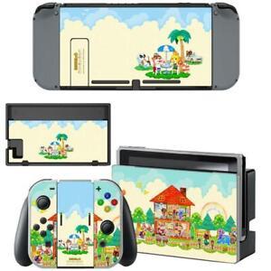 Animal Crossing New Horizons Nintendo Switch Joy Con Console Vinyl
