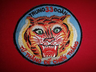 "Vietnam War Patch ARVN 33rd RANGER Regiment ""TU THANG DE CHIEN THANG"""