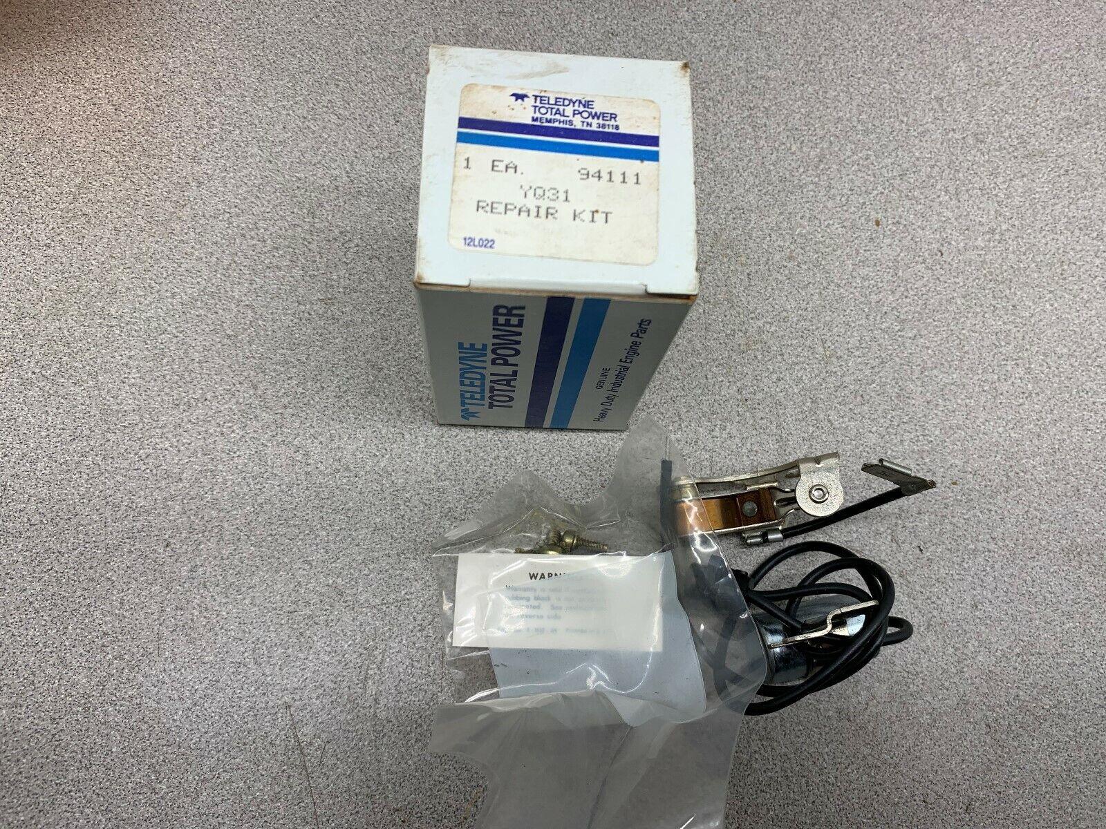 Nuevo En Caja Teledyne Kit de reparación de potencia total YQ31
