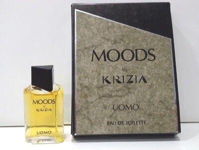 MOODS UOMO by KRIZIA 5 ml MIGNON Miniatura Profumo da Collezione Vintage | eBay