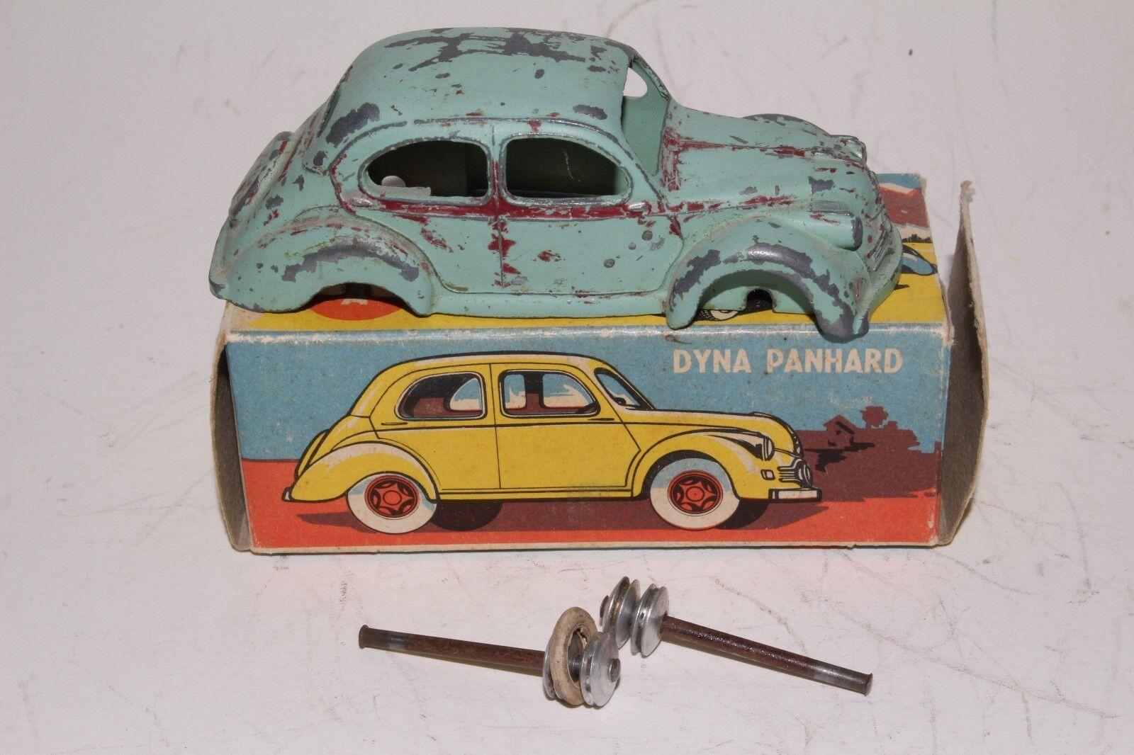 Década de 1950 CIJ Dyna PANHARD Sedan, caja original, Piezas