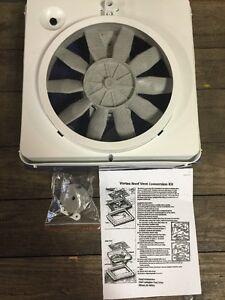 New Rv Vortex 1 Single Speed Roof Vent Up Grade Fan 12