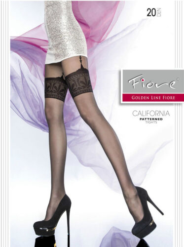 PATERNED pantyhose LADIES TIGHTS PANTY HOSIERY  LINGERIE OFFER BY FIORE //2