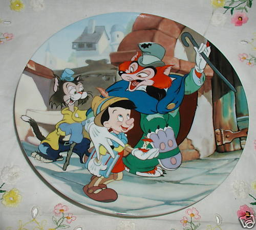 """IT'S AN ACTOR'S LIFE FOR ME"" PINOCCHIO PLATE COABOX"