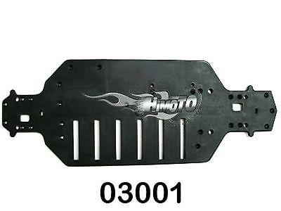 03001 Telaio Inferiore Per Stradale Elettrica On Road Chassis 1:10 Himoto